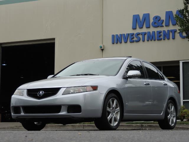 2004 Acura TSX w/Navi / Leather / Heated seats / Sunroof - Photo 1 - Portland, OR 97217