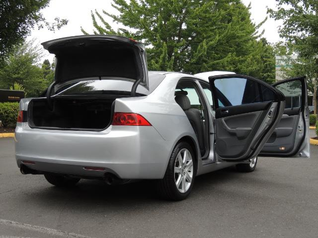 2004 Acura TSX w/Navi / Leather / Heated seats / Sunroof - Photo 29 - Portland, OR 97217