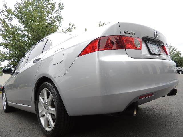 2004 Acura TSX w/Navi / Leather / Heated seats / Sunroof - Photo 10 - Portland, OR 97217