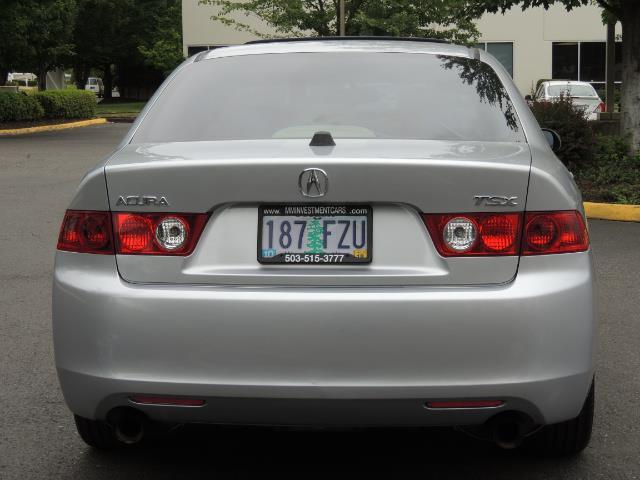 2004 Acura TSX w/Navi / Leather / Heated seats / Sunroof - Photo 6 - Portland, OR 97217