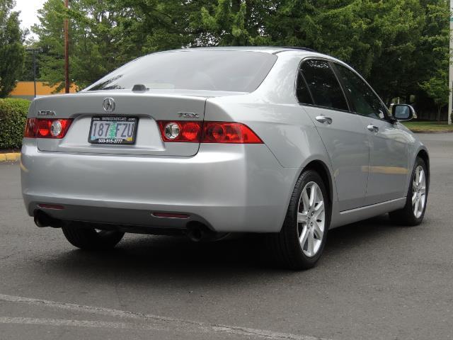 2004 Acura TSX w/Navi / Leather / Heated seats / Sunroof - Photo 8 - Portland, OR 97217