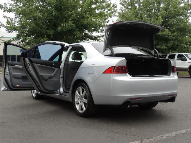 2004 Acura TSX w/Navi / Leather / Heated seats / Sunroof - Photo 27 - Portland, OR 97217