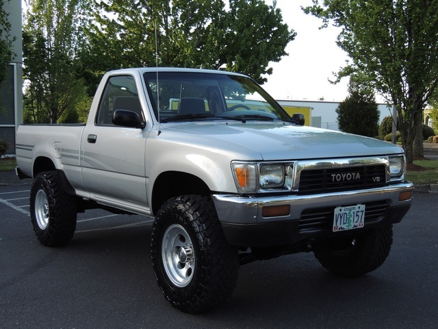 1991 toyota pickup deluxe 4x4 5 speed 6cyl lifted. Black Bedroom Furniture Sets. Home Design Ideas