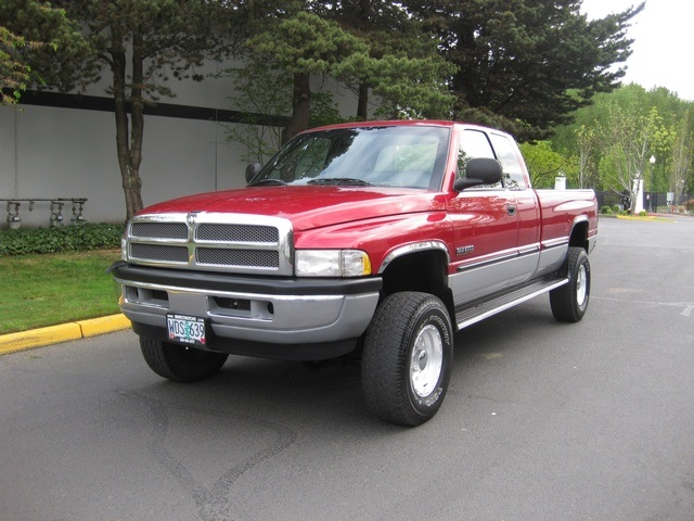 1998 dodge ram 2500 4x4 slt longbed 12 valve 5 9l cummins diesel. Black Bedroom Furniture Sets. Home Design Ideas