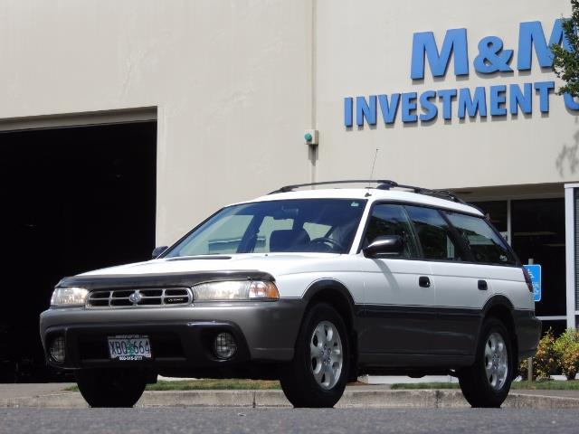 1999 Subaru Legacy Outback / Sport / Wagon / AWD / 5-SPEED / Excel Co - Photo 34 - Portland, OR 97217