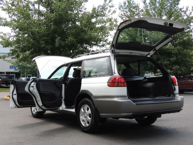 1999 Subaru Legacy Outback / Sport / Wagon / AWD / 5-SPEED / Excel Co - Photo 27 - Portland, OR 97217