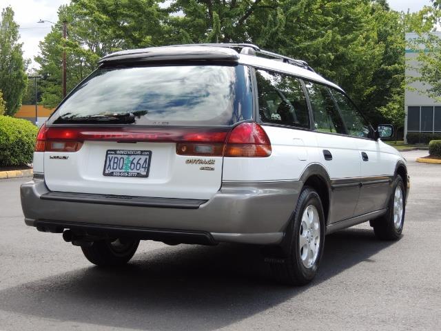 1999 Subaru Legacy Outback / Sport / Wagon / AWD / 5-SPEED / Excel Co - Photo 8 - Portland, OR 97217