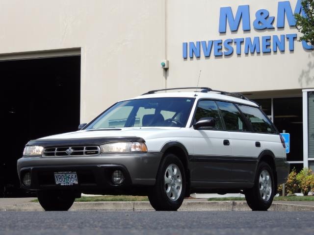 1999 Subaru Legacy Outback / Sport / Wagon / AWD / 5-SPEED / Excel Co - Photo 46 - Portland, OR 97217