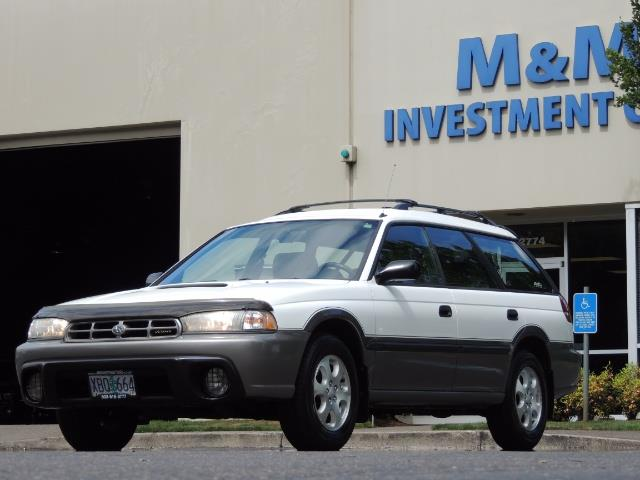 1999 Subaru Legacy Outback / Sport / Wagon / AWD / 5-SPEED / Excel Co - Photo 44 - Portland, OR 97217
