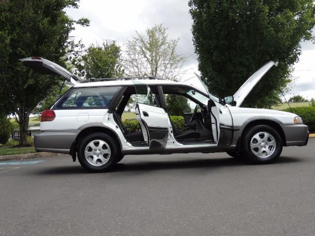 1999 Subaru Legacy Outback / Sport / Wagon / AWD / 5-SPEED / Excel Co - Photo 30 - Portland, OR 97217