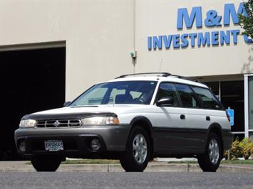 1999 Subaru Legacy Outback / Sport / Wagon / AWD / 5-SPEED / Excel Co Wagon