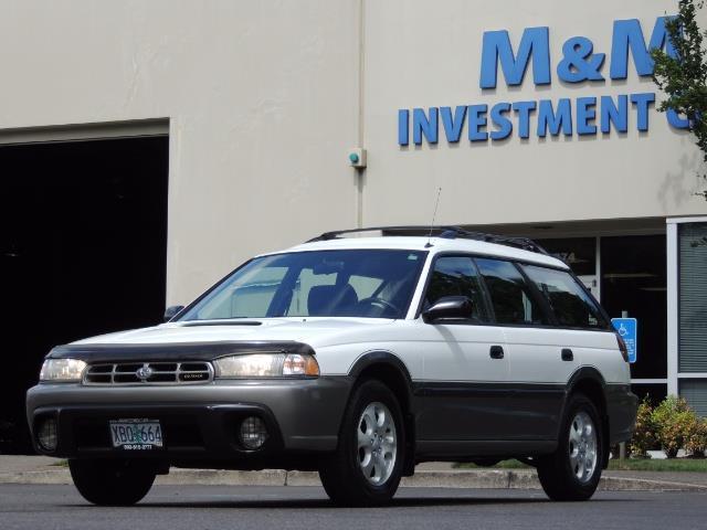 1999 Subaru Legacy Outback / Sport / Wagon / AWD / 5-SPEED / Excel Co - Photo 45 - Portland, OR 97217