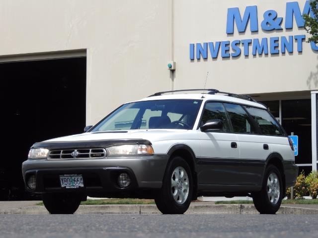 1999 Subaru Legacy Outback / Sport / Wagon / AWD / 5-SPEED / Excel Co - Photo 47 - Portland, OR 97217