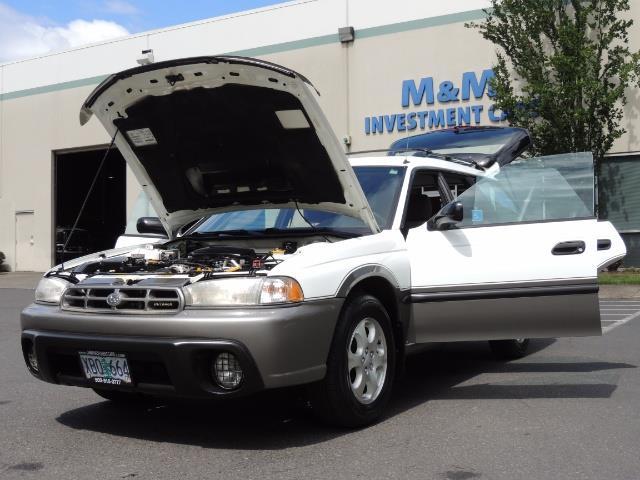 1999 Subaru Legacy Outback / Sport / Wagon / AWD / 5-SPEED / Excel Co - Photo 25 - Portland, OR 97217