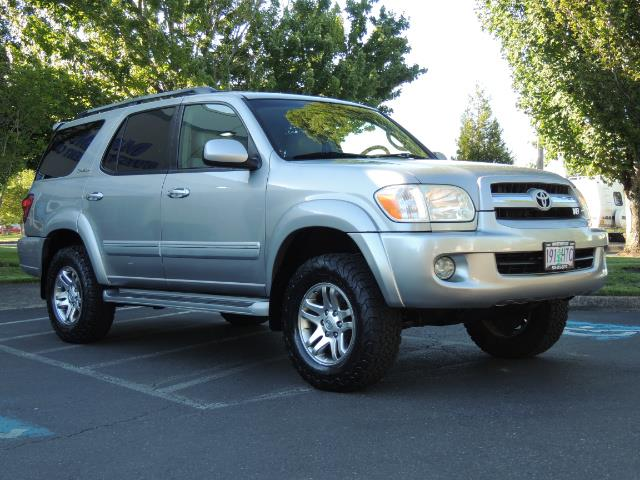 2005 Toyota Sequoia Limited 4WD /8 Seats/DVDs/Fresh Timing Belt LIFTED - Photo 2 - Portland, OR 97217