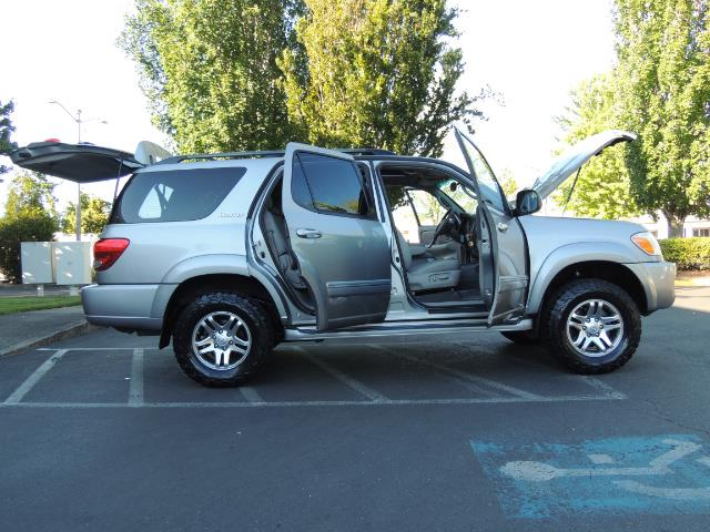 2005 Toyota Sequoia Limited 4WD /8 Seats/DVDs/Fresh Timing Belt LIFTED - Photo 28 - Portland, OR 97217