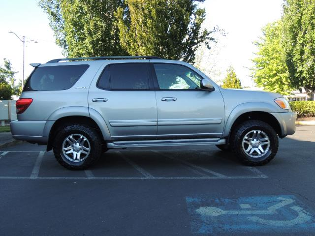 2005 Toyota Sequoia Limited 4WD /8 Seats/DVDs/Fresh Timing Belt LIFTED - Photo 4 - Portland, OR 97217