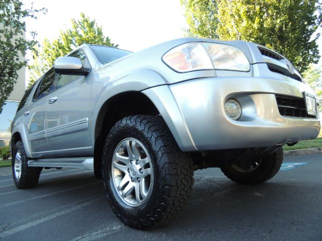 2005 Toyota Sequoia Limited 4WD /8 Seats/DVDs/Fresh Timing Belt LIFTED - Photo 9 - Portland, OR 97217