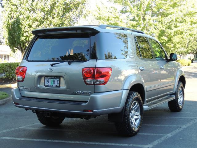 2005 Toyota Sequoia Limited 4WD /8 Seats/DVDs/Fresh Timing Belt LIFTED - Photo 58 - Portland, OR 97217