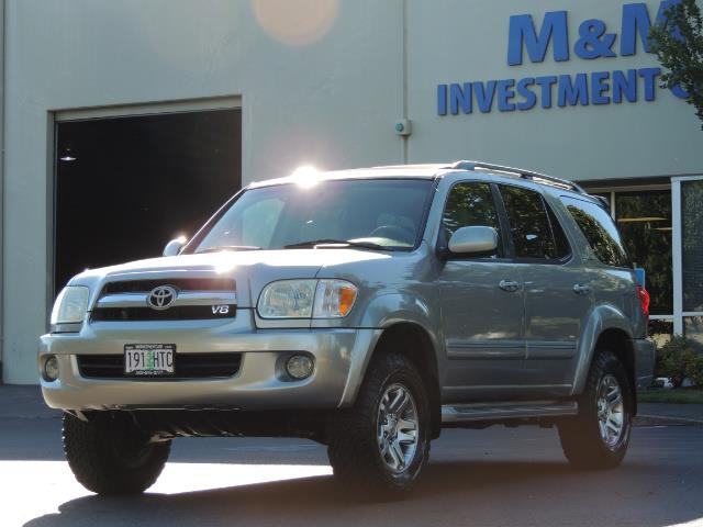 2005 Toyota Sequoia Limited 4WD /8 Seats/DVDs/Fresh Timing Belt LIFTED - Photo 49 - Portland, OR 97217