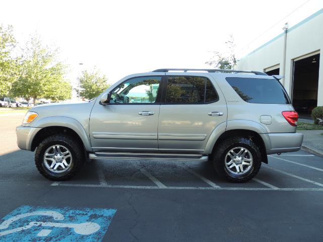 2005 Toyota Sequoia Limited 4WD /8 Seats/DVDs/Fresh Timing Belt LIFTED - Photo 3 - Portland, OR 97217