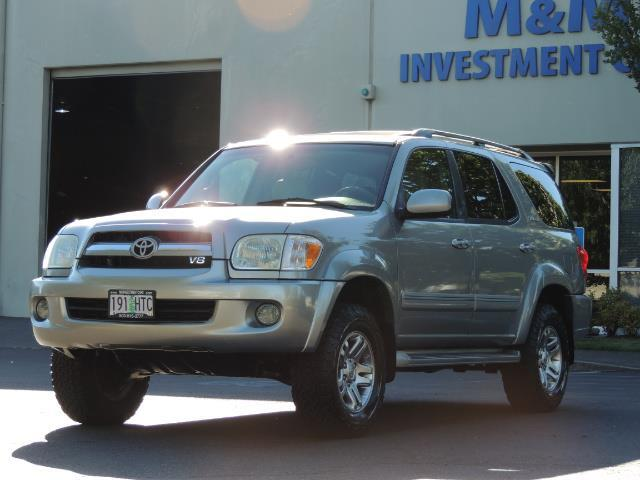 2005 Toyota Sequoia Limited 4WD /8 Seats/DVDs/Fresh Timing Belt LIFTED - Photo 1 - Portland, OR 97217