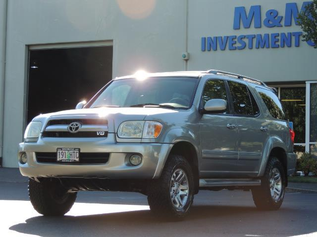2005 Toyota Sequoia Limited 4WD /8 Seats/DVDs/Fresh Timing Belt LIFTED - Photo 50 - Portland, OR 97217