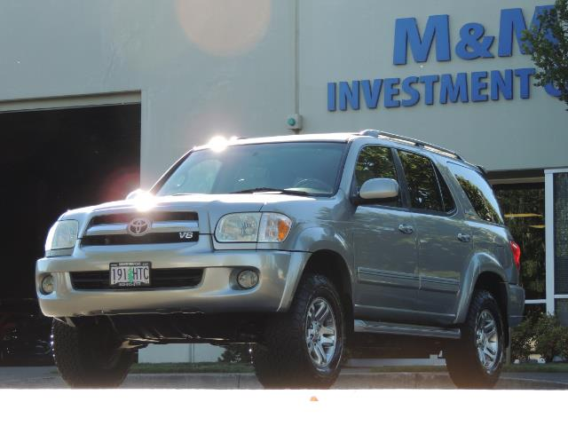 2005 Toyota Sequoia Limited 4WD /8 Seats/DVDs/Fresh Timing Belt LIFTED - Photo 51 - Portland, OR 97217