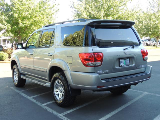 2005 Toyota Sequoia Limited 4WD /8 Seats/DVDs/Fresh Timing Belt LIFTED - Photo 6 - Portland, OR 97217