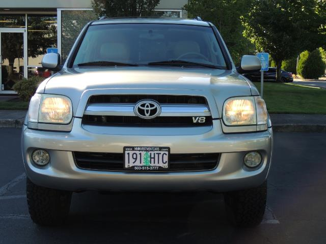 2005 Toyota Sequoia Limited 4WD /8 Seats/DVDs/Fresh Timing Belt LIFTED - Photo 5 - Portland, OR 97217