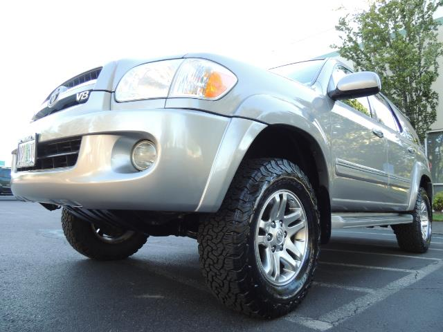 2005 Toyota Sequoia Limited 4WD /8 Seats/DVDs/Fresh Timing Belt LIFTED - Photo 8 - Portland, OR 97217