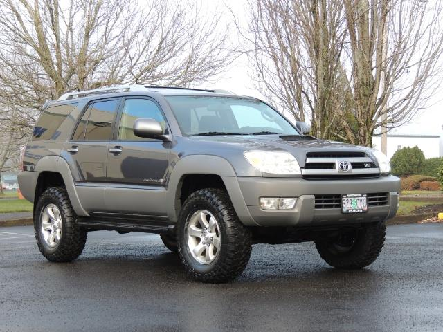 2003 toyota 4runner sport edition 4wd v8 4 7l diff lock lifted. Black Bedroom Furniture Sets. Home Design Ideas
