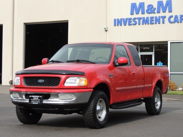 used 1998 ford f 150 xlt 4x4 4 6l 8cyl for sale in portland or m m investment cars da2633. Black Bedroom Furniture Sets. Home Design Ideas