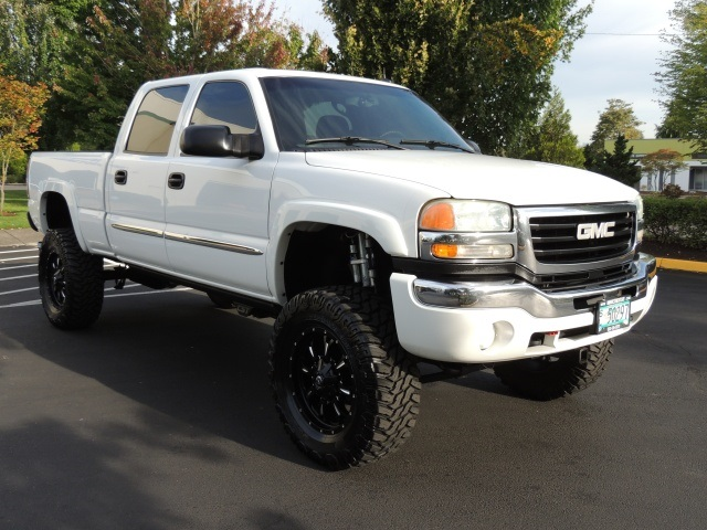 2004 gmc sierra 2500 slt crew cab 4x4 6 6l duramax disel. Black Bedroom Furniture Sets. Home Design Ideas