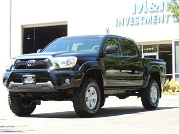 2014 Toyota Tacoma V6 Double Cab 4WD TRD 6cyl LIFTED 1-Owner  37K Truck