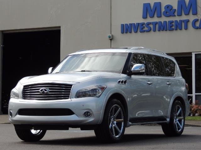 2011 Infiniti QX56 NAVi / DVDs / 8-passenger / LOADED / PRISTINE ! - Photo 53 - Portland, OR 97217