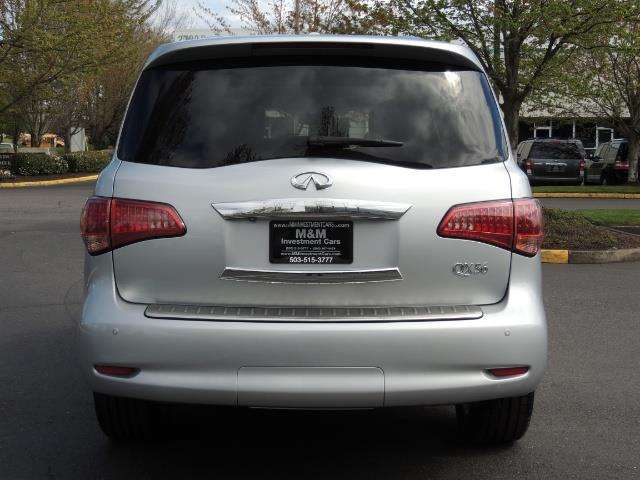 2011 Infiniti QX56 NAVi / DVDs / 8-passenger / LOADED / PRISTINE ! - Photo 6 - Portland, OR 97217