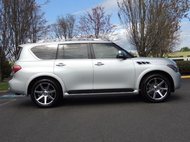 2011 Infiniti QX56 NAVi / DVDs / 8-passenger / LOADED / PRISTINE ! - Photo 4 - Portland, OR 97217