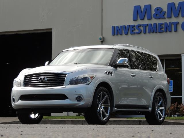 2011 Infiniti QX56 NAVi / DVDs / 8-passenger / LOADED / PRISTINE ! - Photo 54 - Portland, OR 97217
