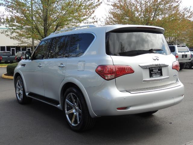 2011 Infiniti QX56 NAVi / DVDs / 8-passenger / LOADED / PRISTINE ! - Photo 7 - Portland, OR 97217