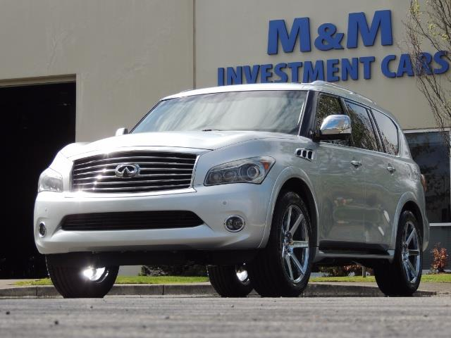 2011 Infiniti QX56 NAVi / DVDs / 8-passenger / LOADED / PRISTINE ! - Photo 56 - Portland, OR 97217