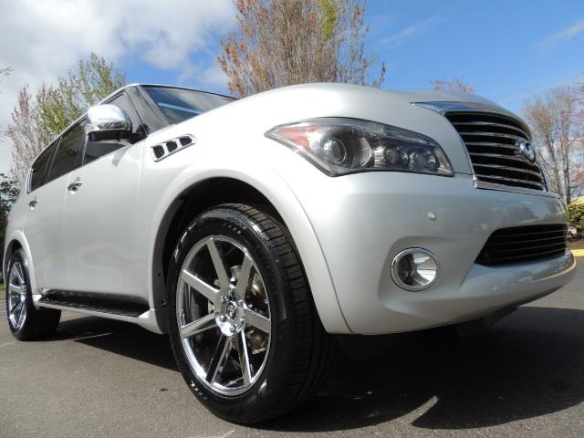 2011 Infiniti QX56 NAVi / DVDs / 8-passenger / LOADED / PRISTINE ! - Photo 10 - Portland, OR 97217