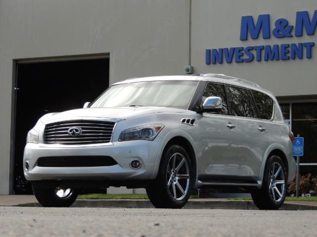 2011 Infiniti QX56 NAVi / DVDs / 8-passenger / LOADED / PRISTINE ! - Photo 55 - Portland, OR 97217