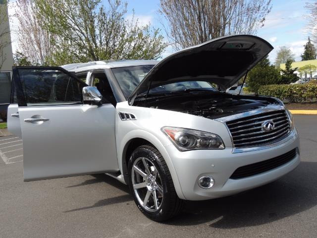 2011 Infiniti QX56 NAVi / DVDs / 8-passenger / LOADED / PRISTINE ! - Photo 31 - Portland, OR 97217