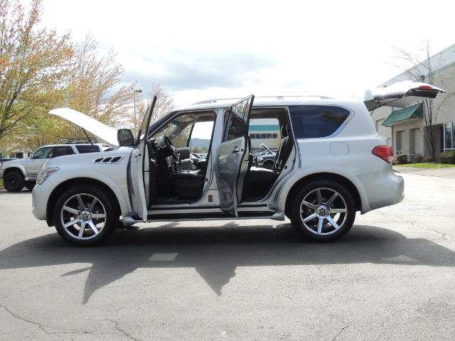 2011 Infiniti QX56 NAVi / DVDs / 8-passenger / LOADED / PRISTINE ! - Photo 25 - Portland, OR 97217