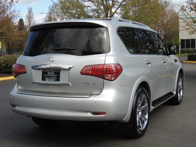 2011 Infiniti QX56 NAVi / DVDs / 8-passenger / LOADED / PRISTINE ! - Photo 8 - Portland, OR 97217