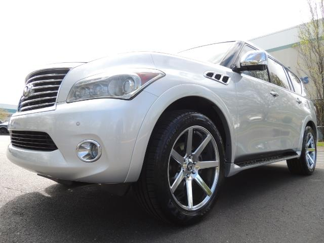 2011 Infiniti QX56 NAVi / DVDs / 8-passenger / LOADED / PRISTINE ! - Photo 9 - Portland, OR 97217