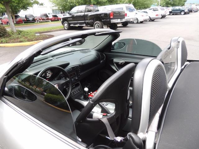 2001 Porsche Boxster Convertible / 5-SPEED MANUAL / RECARO SEATS - Photo 22 - Portland, OR 97217