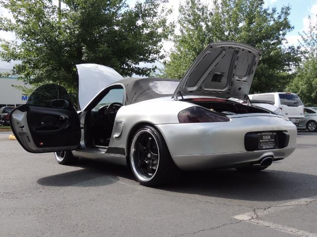 2001 Porsche Boxster Convertible / 5-SPEED MANUAL / RECARO SEATS - Photo 27 - Portland, OR 97217