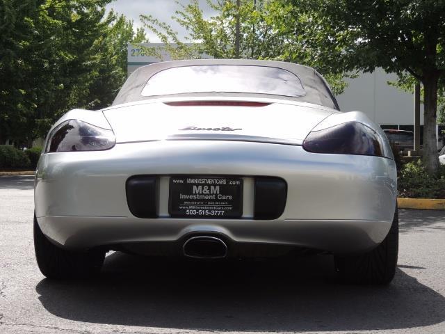 2001 Porsche Boxster Convertible / 5-SPEED MANUAL / RECARO SEATS - Photo 6 - Portland, OR 97217